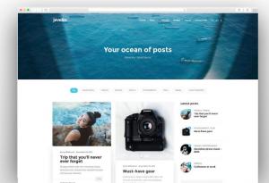 9 mẫu theme WordPress chuẩn SEO 2019