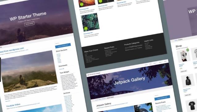 Dịch vụ thiết kế web theo theme có sẵn