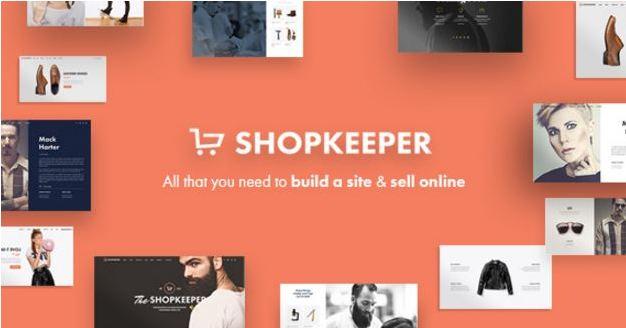 Theme worrdpress bán hàng chuyên nghiệp shopkeeper