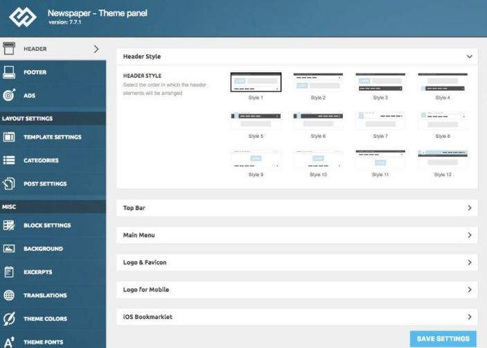 Hướng dẫn sử dụng Multiple Theme tùy chỉnh Theme Options