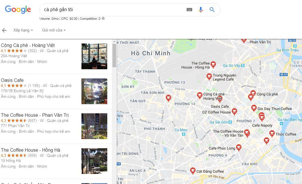 Lợi ích khi tạo địa chỉ doanh nghiệp trên Google Maps