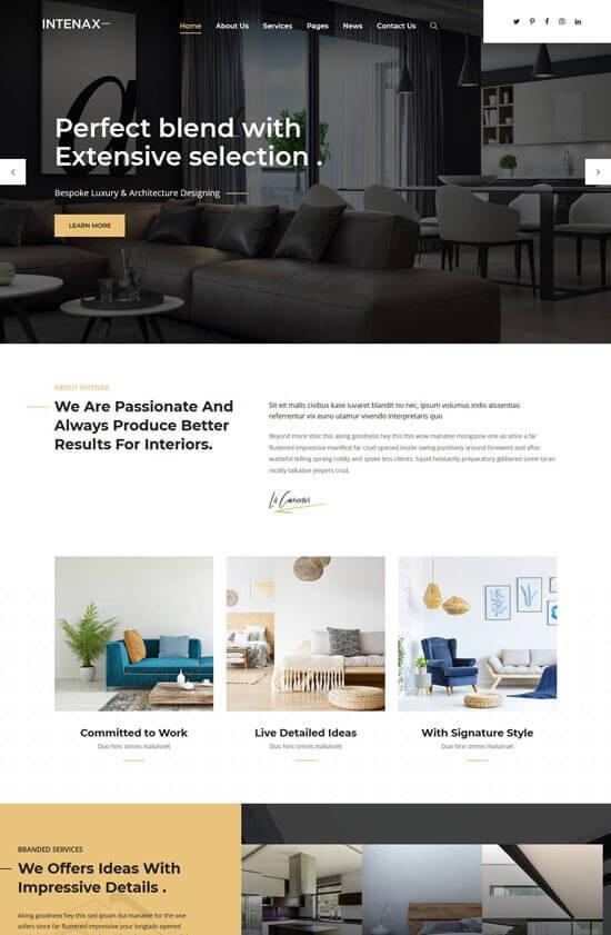 Decor life là theme wordpress miễn phí thích hợp cho thiết kế nội thất trong nhà