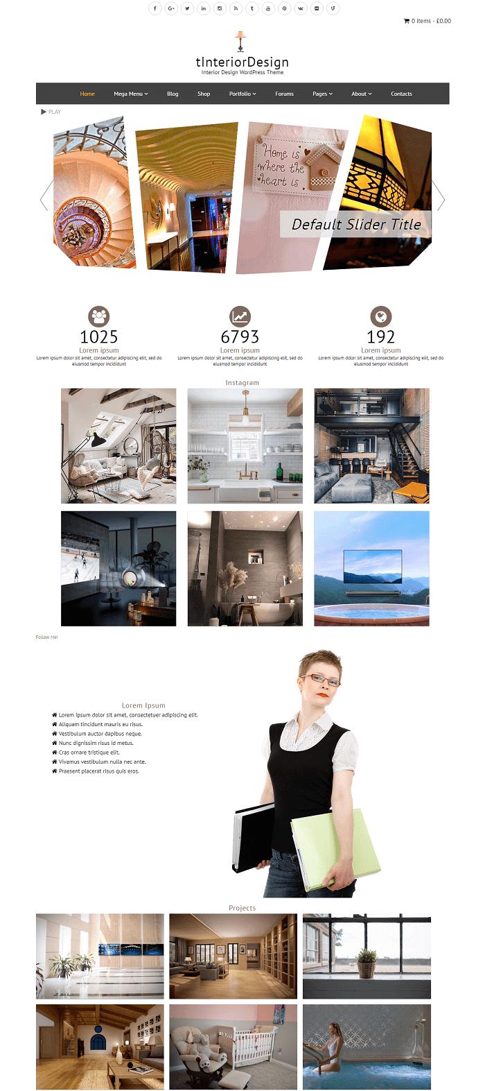 Theme wordpress miến phí về nội thất được nhiều người dùng ưa thích
