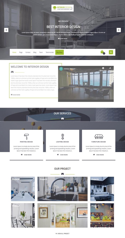 VW Interior Design là theme wordpress miến phí nội thất rất phong cách và có nhiều hiệu ứng