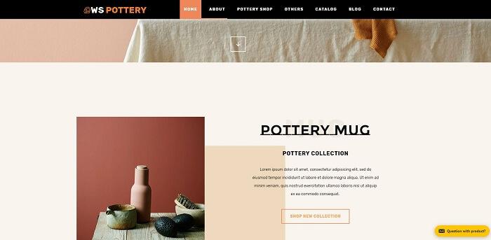 WS Pottery chuyên dành cho nội thất ngoài trời