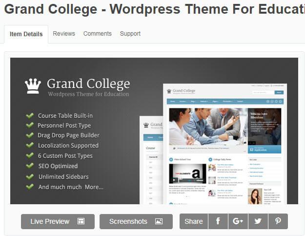 Phong cách Grand College nhẹ nhàng, thư thái cho người dùng trải nghiệm một cách mượt mà hơn