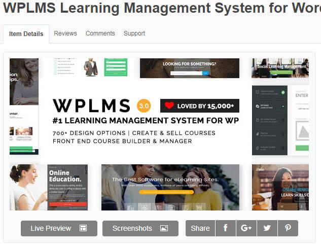 WPLMS hiện là theme wordpress được nhiều website học trực tuyến áp dụng