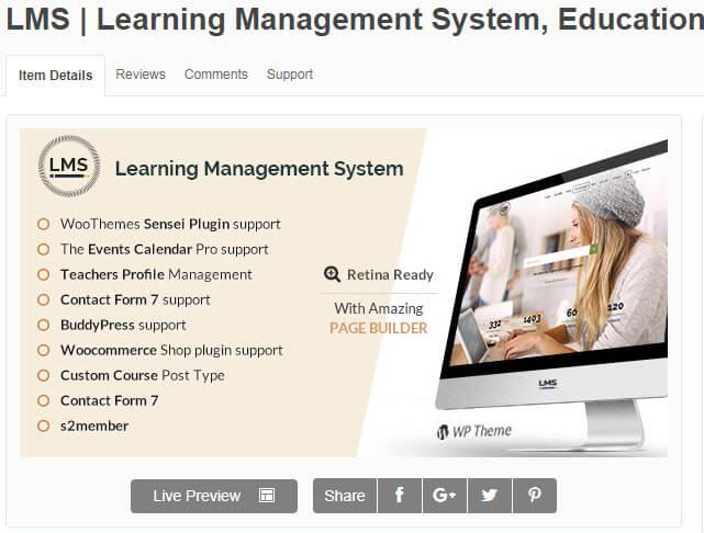 LMS hỗ trợ website học trực tuyến