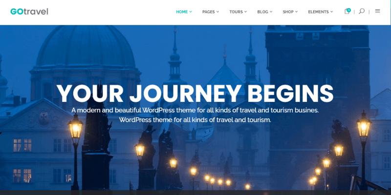 theme wordpress du lịch go travel