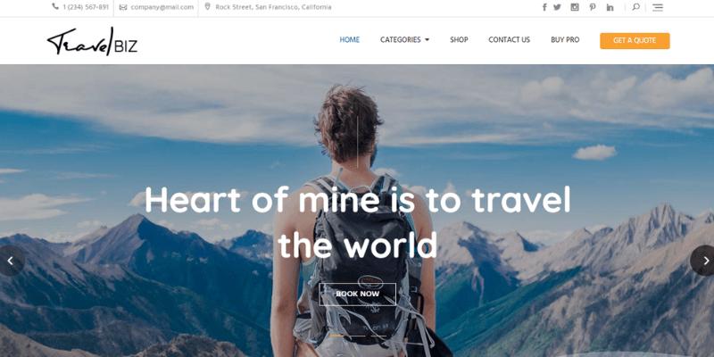 theme travel biz